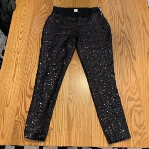 Gap sequin leggings small